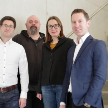 Conveners (from l-r) Arndt Wagner, Nikolaos Karadimitriou, Iryna Rybak, Sergey Oladyshkin