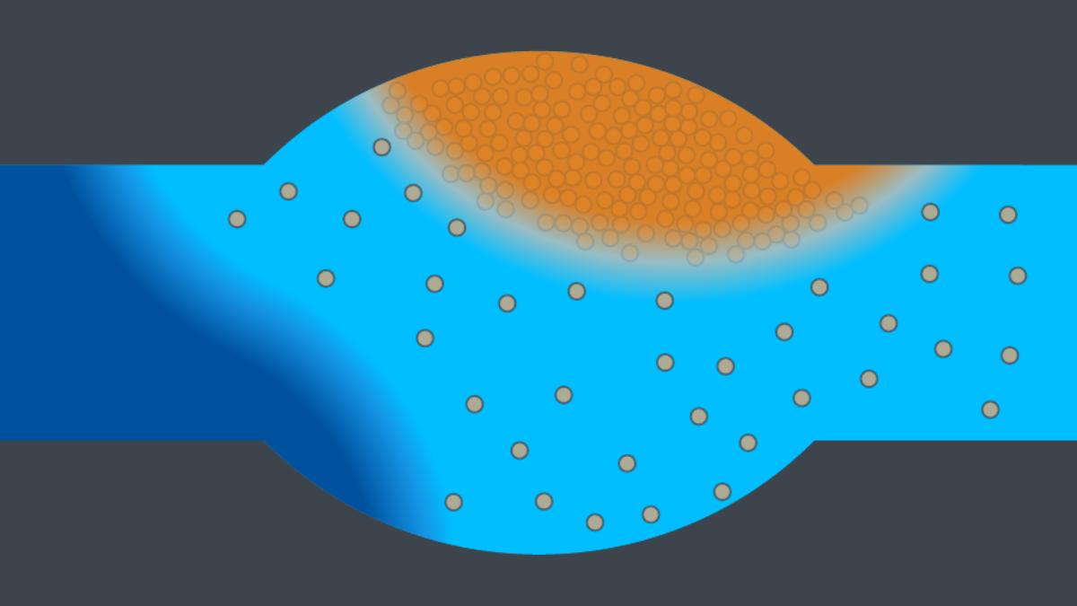 Modeling of precipiation in porous media with a diffuse interface ansatz  (c)